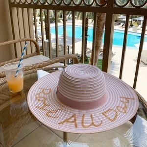 7579f4e0 August Hats Accessories   August Hat Company Rose All Day Floppy Hat ...